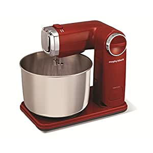 Morphy Richards 48993 Folding Stand Mixer - Red
