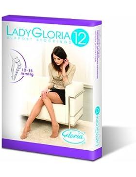 De compresión de Gloria de medias hold-UP de soporte para 12-15 mmHg para capas más ligeras patas de