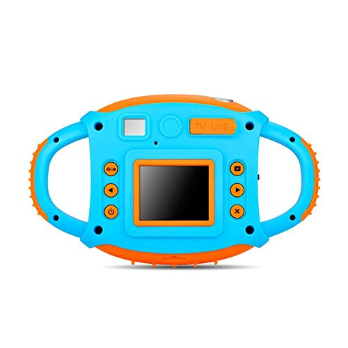 Starter Mini cámara digital para niños, 1.44'Videocámara de cámara de acción de video HD 1080P de dibujos animados para niños regalo de niñas