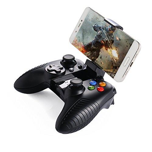 YKS Mando Inalámbrico para Juegos (con soporte para el móvil  conexión Bluetooth  batería litio) para Android / PC / Gafas VR