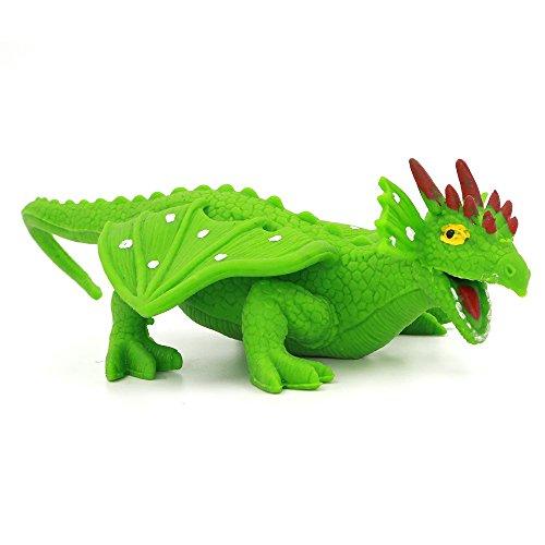Legenda draghi dinosauro giocattoli 20 centimetri non tossico (verde)