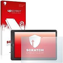 upscreen Scratch Shield Protector Pantalla Wacom Cintiq Companion 2 Película – Transparente, Anti-Huellas