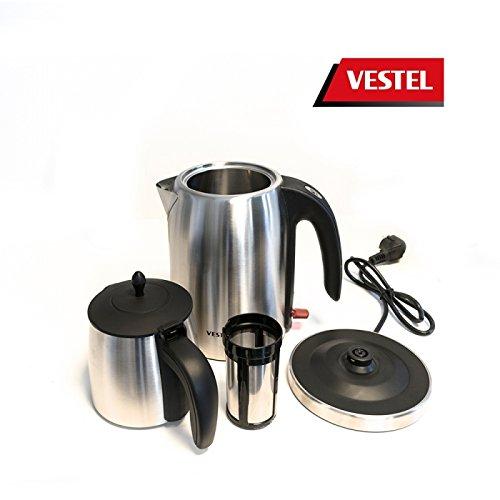 Vestel Teekocher Tee Maschine 20242148 Mit 2200W und 2,8L Kocher - Vestel Çay Makinesi - 3