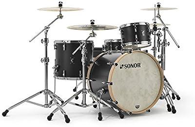 Sonor SQ1324Shell Set GT Black–24/13/16