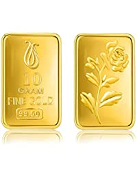 Senco Gold 10 gram, 24k (995) Yellow Gold Precious Bar