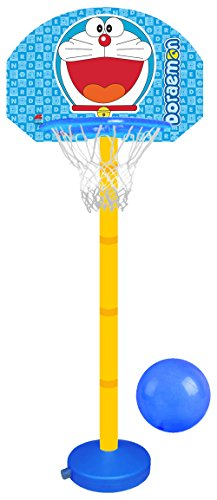 Doraemon Adjustable Height Basketball Set