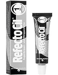 RefectoCil Henna 1 Black Tinte Blanqueamiento Cejas - 15 ml