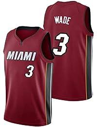 CRBsports Dwyane Wade, Camiseta De Baloncesto, Calienta, Edición De Estado De Cuenta,