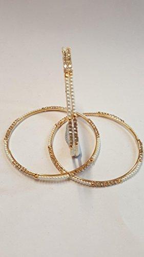 Bracelet de perle d'or Bracelet de main de chaîne de main de bracelet de Kangan (Pb-14140) golden