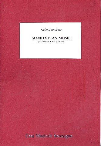 Boccadoro, Carlo: Manhattan Music : für Klarinette und Klavier (1995)