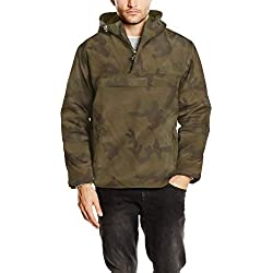 Brandit Herren Windbreaker, Color:woodland;Größe:L