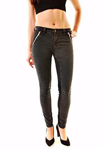 J BRAND Women's Vintage Black Widow Nikko