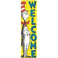 Eureka Vertikal Klassenzimmer Welcome Banner
