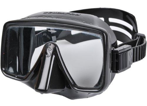 SCUBAPRO - Frameless Black Tauchmaske -