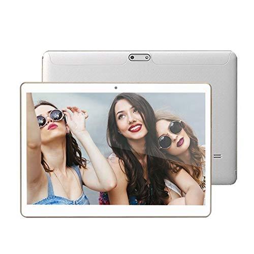 Leo565Tom 10,1 Zoll Android Tablet PC IPS Hochauflösender Bildschirm MTK6592 8-Core Tablet Android 7.0 System 4 GB + 64 GB Bluetooth WiFi Dual-Kamera