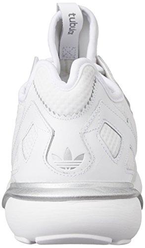 adidas Originals  Tubular Runner, Sneakers Basses adulte mixte Blanc - Weiß (FTWR White/FTWR White/Vintage White S15-ST)