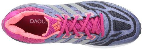 adidas Supernova Sequence 6 w Textile, Chaussures de running femme Bleu - Blau (Urban Sky F12 / Metallic Silver / Blast Pink F13)