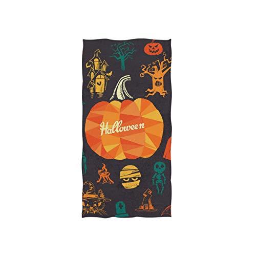 MALPLENA Malplea Halloween-Kollektion hochwertige Gesichtshandtücher, Mehrzweck-Handtücher