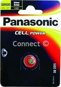 Panasonic Pile bouton silver oxid, 1 pièce en blister