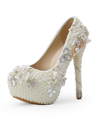WSS 2016 Chaussures de mariage-Beige-Mariage / Habillé / Soirée & Evénement-Talons-Talons-Homme 5in & over-us8.5 / eu39 / uk6.5 / cn40