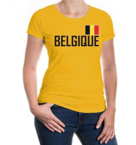 buXsbaum® Girlie T-Shirt Belgien Sunflower-