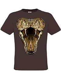 Ethno Designs Cobra - Serpent T-shirt pour les femmes et les hommes - Motif d'animal Shirt Ethno Designs animaux sauvages