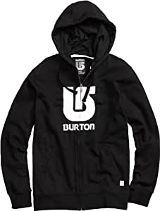 Burton Herren Kapuzenjacke Logo Vertical Full Zip, true black, S, 279800