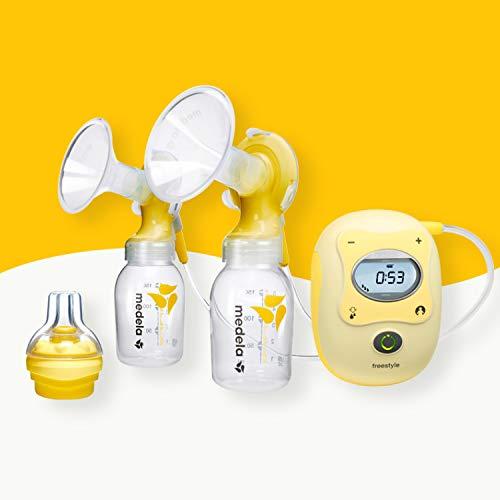 Milchpumpe Medela Freestyle - elektrische Doppel-Milchpumpe, Schweizer Medizinprodukt