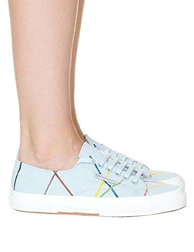 Superga Women's Fanlinu Zazie Woman's Burgundy Sneakers 100% Cotton Tito