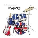 Rock On... It's Your Birthday' - Drum Kit Birthday Card by Just Josh