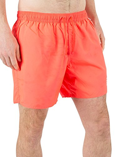Emporio Armani Homme EA7 Logo Short de bain, Orange Orange