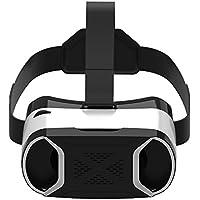 Version Tech 3D Casque VR Lunettes 3D Réalité Virtuelle VR Headset Compatibles Avec iPhone X, iPhone 8/8 Plus/7/7 Plus,Samsung Galaxy S8/S7 et Tous Les Téléphones Portables de 4.0-6.0 Pouces