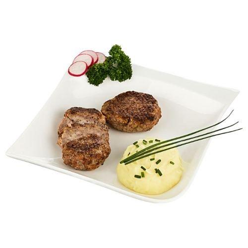 Frikadellen | 6 Fleischpflanzerl aus Rind- und Schweinehackfleisch | Bayrische Buletten / Fleischklopse | Hackfleischbällchen direkt aus Bayern | perfekt zu frischem bayerischen Kartoffelsalat
