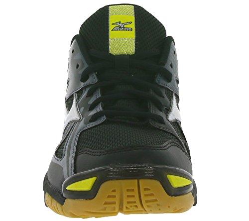 Mizuno Wave Bolt 4, Chaussures Multisport Indoor homme Black