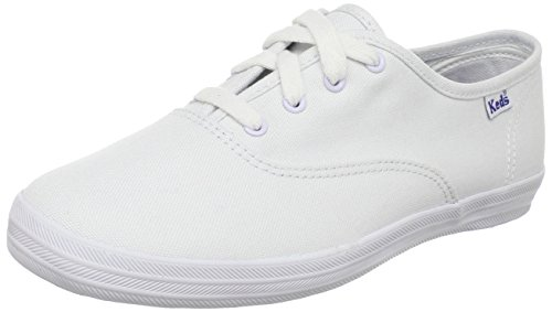Keds Kids Original Champion CVO KT34120 Sneaker bambina, Bianco (Weiss/White), 35.5