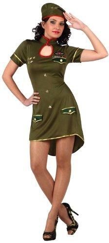 Imagen de atosa  disfraz de soldado para mujer, talla m/l 10311