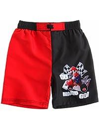 Super Mario Bros Chicos Pantalón bañador - Negro