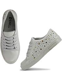 c29a978d68d Grey Women s Sneakers  Buy Grey Women s Sneakers online at best ...