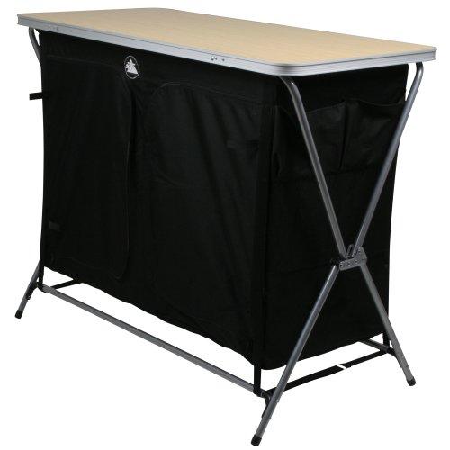 41iYJhPcX7L. SS500  - 10T Flapbox - Camping cupboard, 6 draws + top storage box, foldable steel frame, 53x110x90 cm