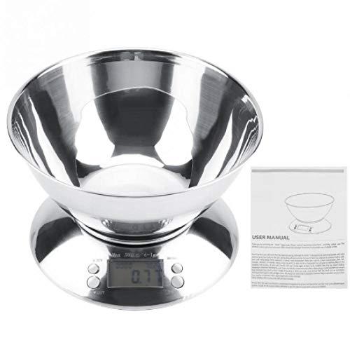 2019 heißer Verkauf Edelstahl Küche Digitalwaage Lebensmittel Wiegen Elektronische Waage Alarm Timer Temperatur mit Bogen (Batterie Säure Für Den Verkauf)