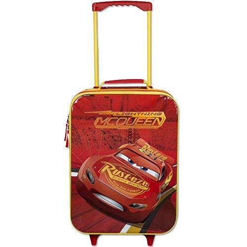 Kindertrolley Cars - Kindergepäck - Cars Koffer - Disney Kinderkoffer (Cars-koffer Disney)