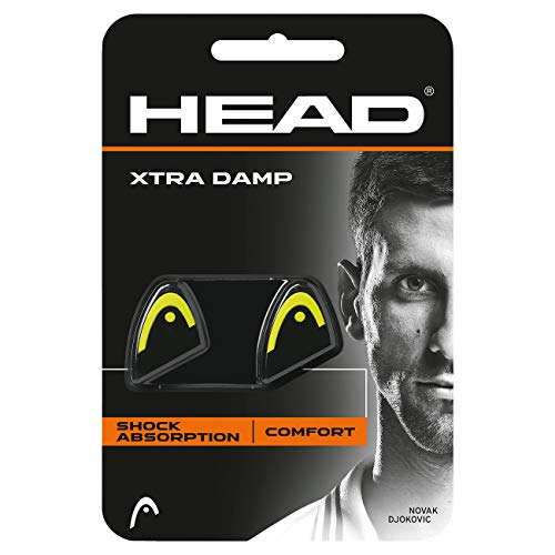 HEAD Unisex - Erwachsene Xtra Tennis Dämpfer, Yellow, - Vibrationsdämpfer Head