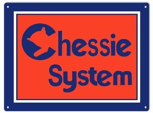 PotteLove Chessie System Railway Retro-Schild (Chessie System)