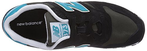 New Balance ML373 D, Baskets mode homme Noir (noir)