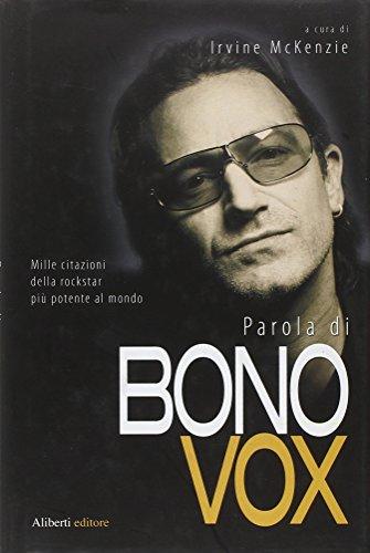 Parola di Bono Vox