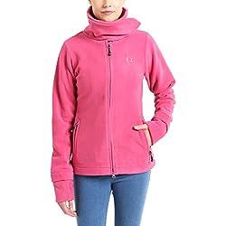 Ultrasport Micro Fleece Jacket Marla Forro Polar, Mujer, Rosa, XL