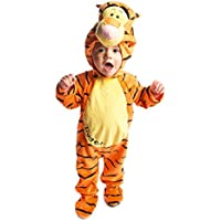 Disney Baby Tigger Plush All-in-One Romper with Moulded Head