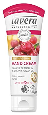 lavera Hand Cream Anti Ageing ∙ With Hyaluronic Acid ∙ Visibly Smooth Hands ∙ Vegan ✔ Organic Skin Care ✔ Natural & Innovative Cosmetics ✔ 75ml