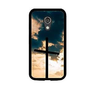 Vibhar printed case back cover for Motorola Moto G (2nd Gen) CrossClouds