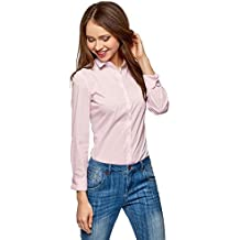 low priced aae1f 58570 Amazon.it: camicia a righe donna - Rosa